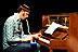 Marc Brenken (p) beim Tatort Jazz im Thealozzi